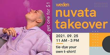 Nuvata Takeover at Weden, an Orange County Dispensary tickets