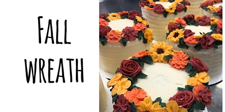 Cake Decorating: Fall Wreath Cake at Fran's Cake and Candy Supplies tickets