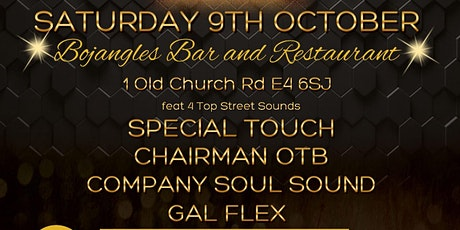 Libran Black and Gold Affair - Club Night in Chingford tickets