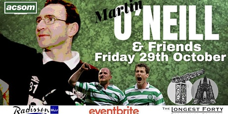 An Evening with Martin O'Neill tickets
