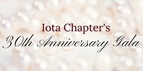 Iota Chapter's 30th Anniversary Gala tickets