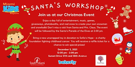 Santa's Workshop with Miami Kids Magazine! tickets