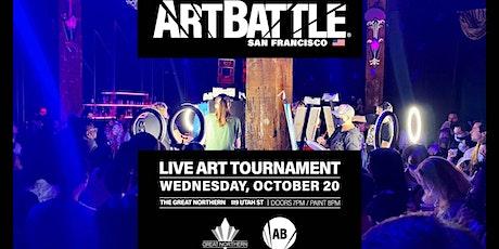Art Battle San Francisco tickets