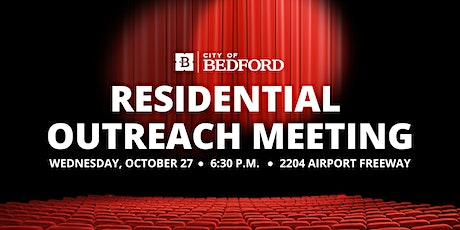 Oct 27, 2021 Residential Outreach tickets