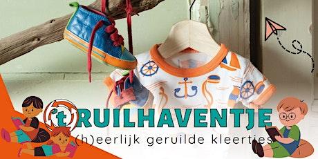 Kinderkledingruilpunt 't Ruilhaventje - Ruildag oktober tickets