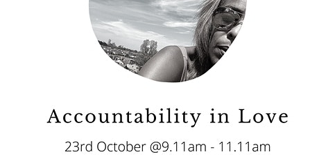 Accountability in Love tickets