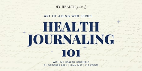 Health Journaling 101 with My Health Journals tickets