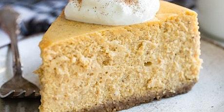 UBS - Virtual Cooking Class: Pumpkin Cheesecake Demo tickets