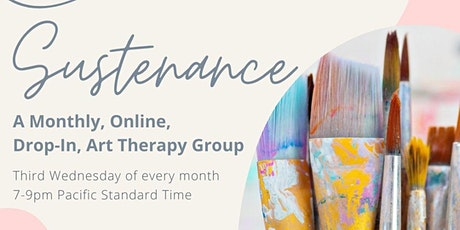 Sustenance: Monthly Art Therapy Night tickets