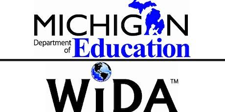 WIDA Screener for Kindergarten Overview tickets