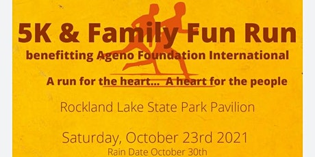 Ageno's Family Fun 5K Run/Walk (Certified 5K Run / Professional Timer) tickets