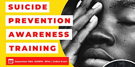 Suicide Prevention Awareness Training tickets