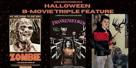 Outdoor B-Movie Triple Feature: ZOMBIE / FRANKENHOOKER / THINGS tickets