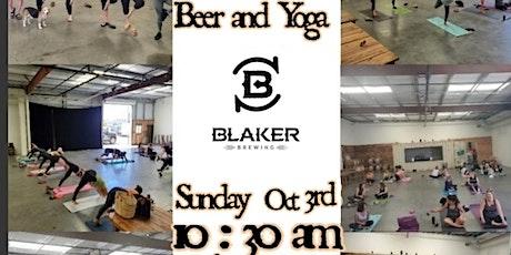 Beer & Yoga tickets