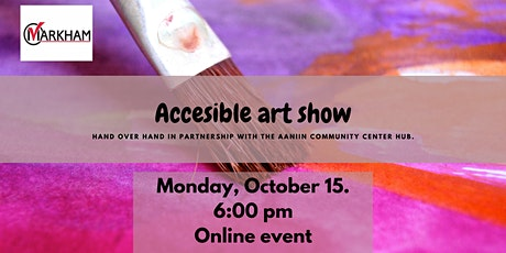 Accessible Art Show tickets