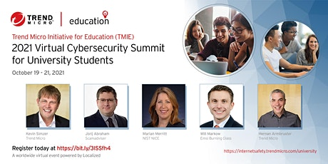 2021 TMIE Virtual Cybersecurity Summit for University Students tickets
