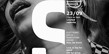 Soundscape Sessions: Edition IV biglietti