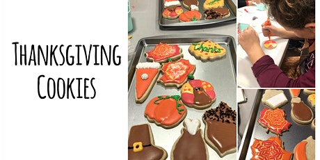 Cookie Decorating Class: Thanksgiving Sugar Cookie Decorating Class tickets