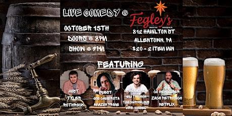 Live Comedy @ Fegley's Allentown Brew Works tickets
