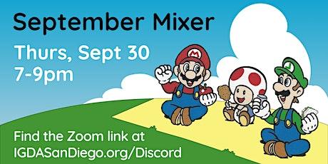 IGDA San Diego September Mixer tickets