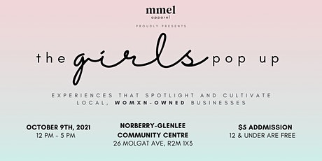 The Girls Pop Up Event tickets