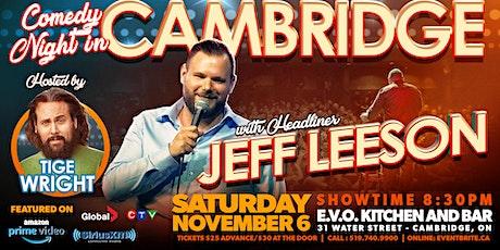 Comedy Night in Cambridge tickets