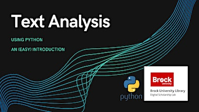 Text Analysis with Python tickets