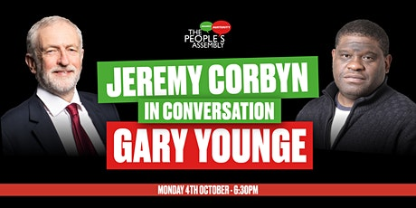Jeremy Corbyn MP in conversation with Gary Younge tickets
