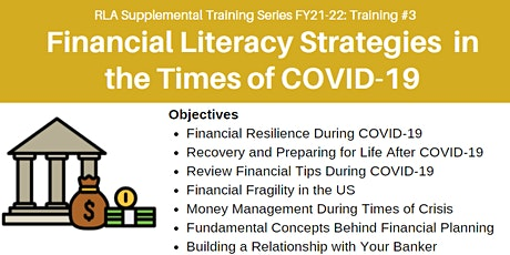 RLA Training #3: Financial Literacy Strategies in the Times of COVID-19 tickets
