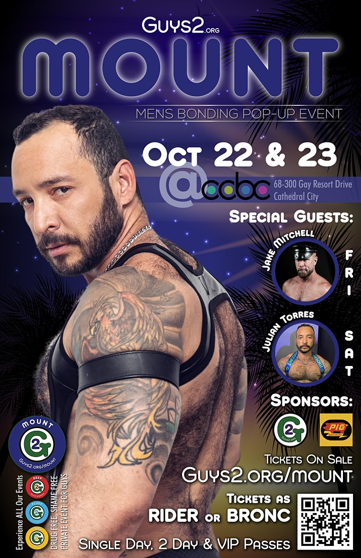 Guys 2 Mount in Palm Springs - Oct 22 & 23rd image