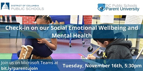 Check-in on Our Social Emotional Wellbeing and  Mental Health tickets