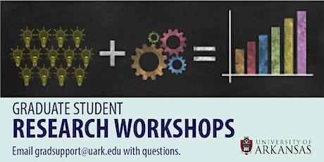 Research Tools at UARK Libraries tickets