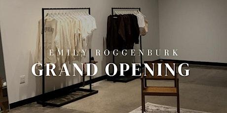 Emily Roggenburk Van Aken Shop Grand Opening tickets