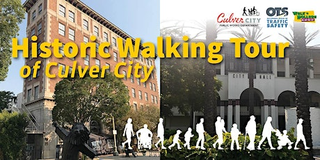 Culver City Historic Walking Tour tickets