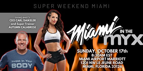Super Sunday Miami with Carl Daikeler and Autumn Calabrese tickets