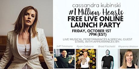 Virtual Launch Concert + Celebration: #1MillionHearts Together tickets
