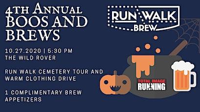 4th Annual Boos and Brews run or walk cemetery tour tickets