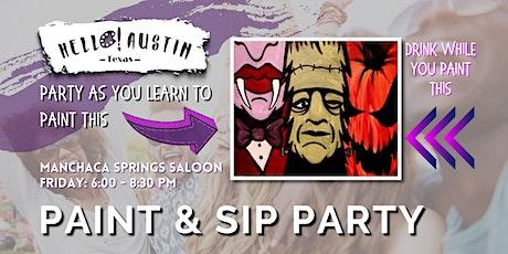 HELLO! PAINT @ Manchaca Springs Saloon tickets