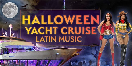 Latin Halloween Party Cruise NYC: Spooky Friday on the Hudson tickets