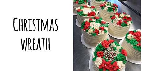 Cake Decorating: Christmas Wreath Cake at Fran's Cake and Candy Supplies tickets
