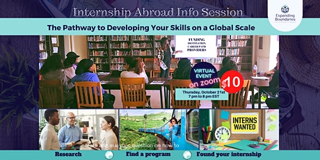 Internship Abroad Information Session - Pathway to Interning Abroad tickets