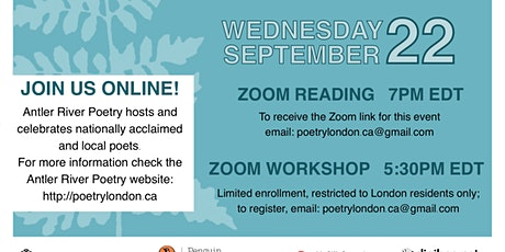 Zoom Reading and Workshop tickets