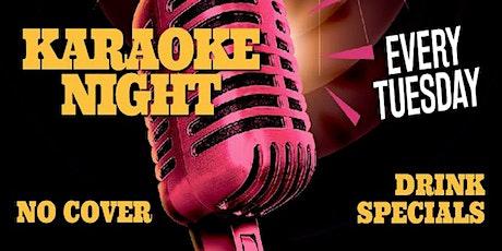 Karaoke Night with KJ Paul Andrews (Tuesday) tickets