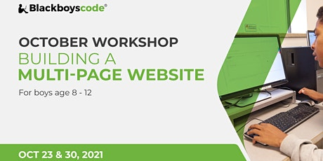 Black Boys Code Montreal - Building a Multi-Page Website tickets