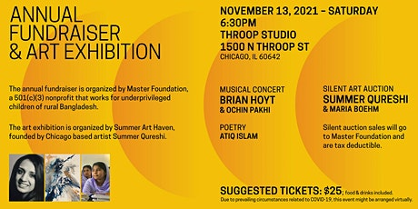 Master Foundation Annual Fundraiser with Art Exhibition by Summer Art Haven tickets