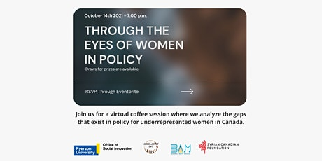 Through the Eyes of Women in Policy tickets