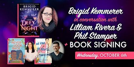 Brigid Kemmerer in Conversation w/ Lilliam Rivera & Phil Stamper tickets