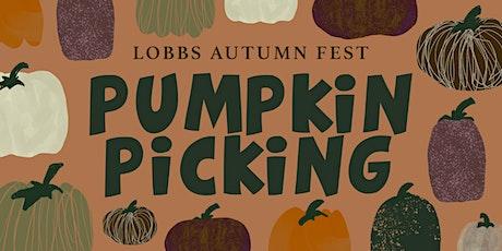 Lobbs Autumn Fest - Kids Pumpkin Picking tickets