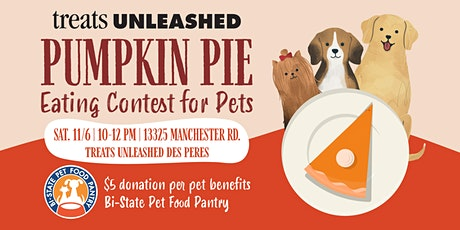 Treats Unleashed Pumpkin Pie Eating Contest tickets
