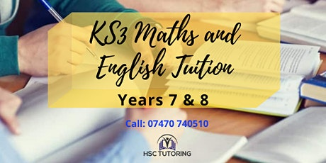 FREE Year 7/8 Maths and English Trial tickets